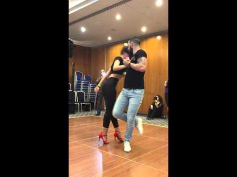 Daniel Y Desiree En BNF Dubai Latin Festival 18-22-2015 ,BACHATA Dance,sexy, Beyonce
