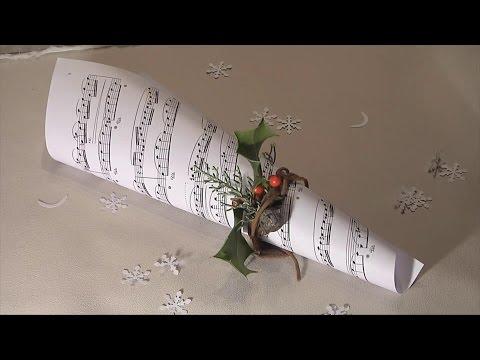 Noel déco !! Christmas decoration !! partition et chant de noel