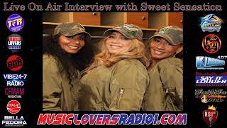 DJ RACER INTERVIEW WITH SWEET SENSATION - 11/22/2019