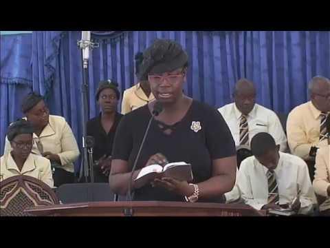"Bethel Sunday Morning Service July 15, 2018 Elder Roy Evans theme  ""I Still Have a Prayer"""