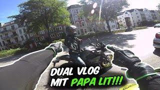 Papa LIT reagiert auf meine Wheelies - Dual Vlog