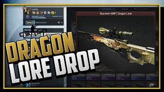 cs go   souvenir awp dragon lore factory new unboxing