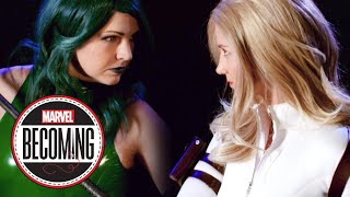 Cosplayers Battle: Madame Hydra vs. Sharon Carter - Marvel Becoming