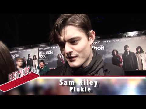 Brighton Rock Premiere Interviews