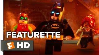 The Lego Batman Movie Featurette - Behind the Bricks (2017) - Will Arnett Movie