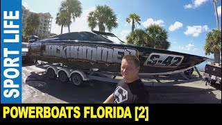 Sport boats [Part 2] powerboat racing event testing loud engines by Jarek Clearwater Florida USA