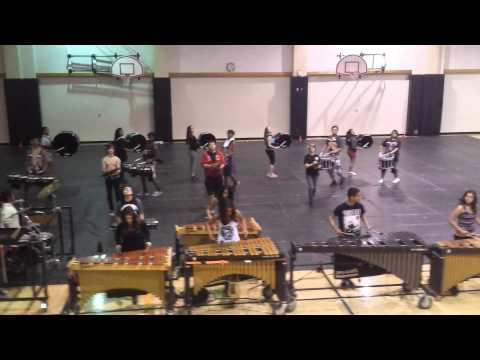Knight High School Winter drumline 2014