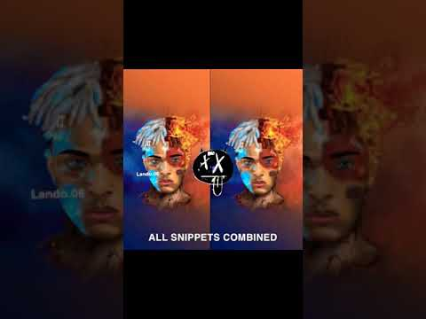 XXXTENTACION - Glass Souls (All 4 Combined Snippets) [NEW]