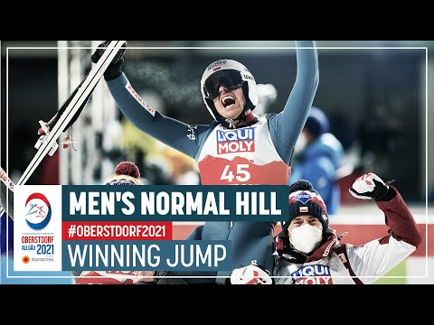 Maiden individual World title for Zyla   Men's Normal Hill   2021 FIS Nordic World Ski Championships
