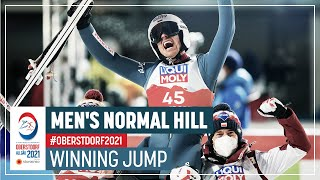 Maiden individual World title for Zyla | Men's Normal Hill | 2021 FIS Nordic World Ski Championships
