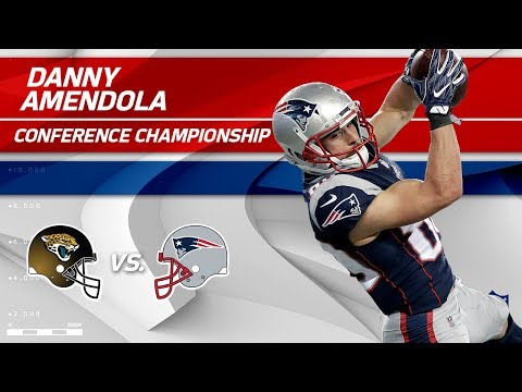 Danny Amendola's 2 TD Day Sends Pats to Super Bowl | Jags vs. Patriots | AFC Championship Player HLs