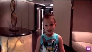 Макс найвищому басейні на 118 поверсі іграшки в Мак Дональдс колесо огляду життя тварин