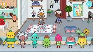 Toca Life world Tour characters,new storage area