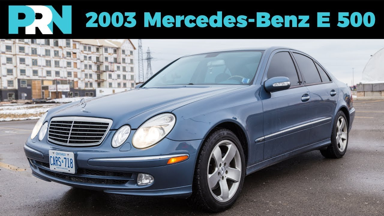 2003 mercedes benz e500 full tour review w211 for Mercedes benz e500 2003