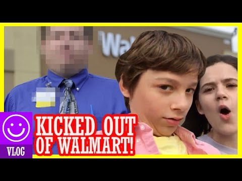 😯 TRYING TO GET KICKED OUT OF WALMART! 😅 Unsupervised kids in Walmart! 😯 |  KITTIESMAMA