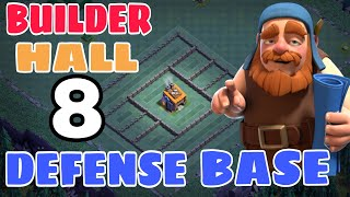 Bh8 Defense Base Design w/PROOF | CoC BEST Bh8 Base Design with Extra Walls | June Update Bh8 Base