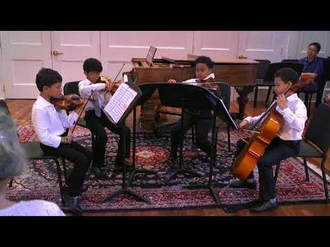 Haydn:  String Quartet in C Major, Op. 1, No. 6