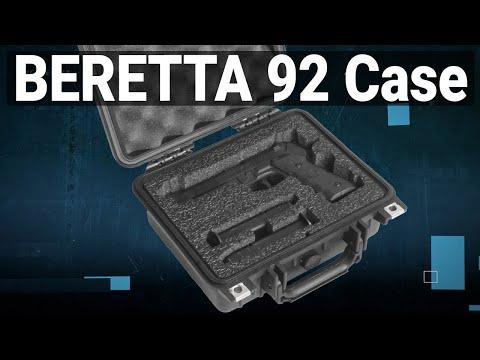 Beretta 92 Pistol Case - Video