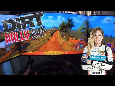 Rally Driver Tries Out Dirt Rally 2.0 - C4 WRC