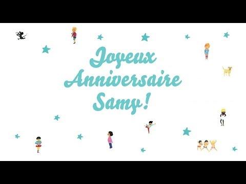 ♫ Joyeux Anniversaire Samy! ♫