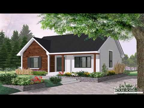 Small House Plans With Cathedral Ceilings