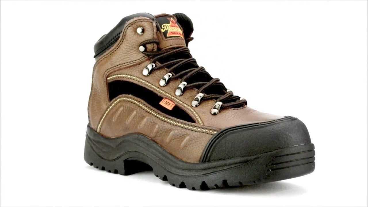 8c468d8cd02 Women's Thorogood 504-4312 Steel Toe Metguard Work Boot @  Steel-Toe-Shoes.com