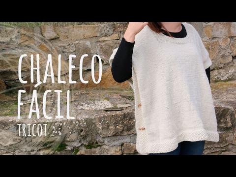 Tutorial Chaleco Fácil y Rápido Tricot  4e57fc3bb06c