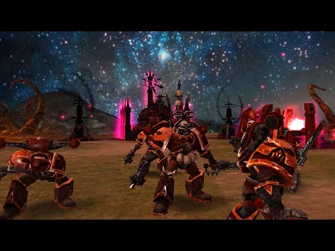 Codex Mod 2021: Black Legion vs Khorne Daemonkin! Epic Battle, Warhammer 40K: Dawn Of War: Soulstorm |