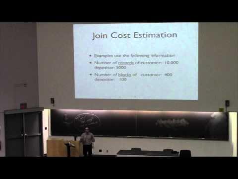 CSE562 Class 14 Cost Estimation & Transactions