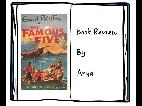 Enid Blyton The Famous Five On A Treasure Island