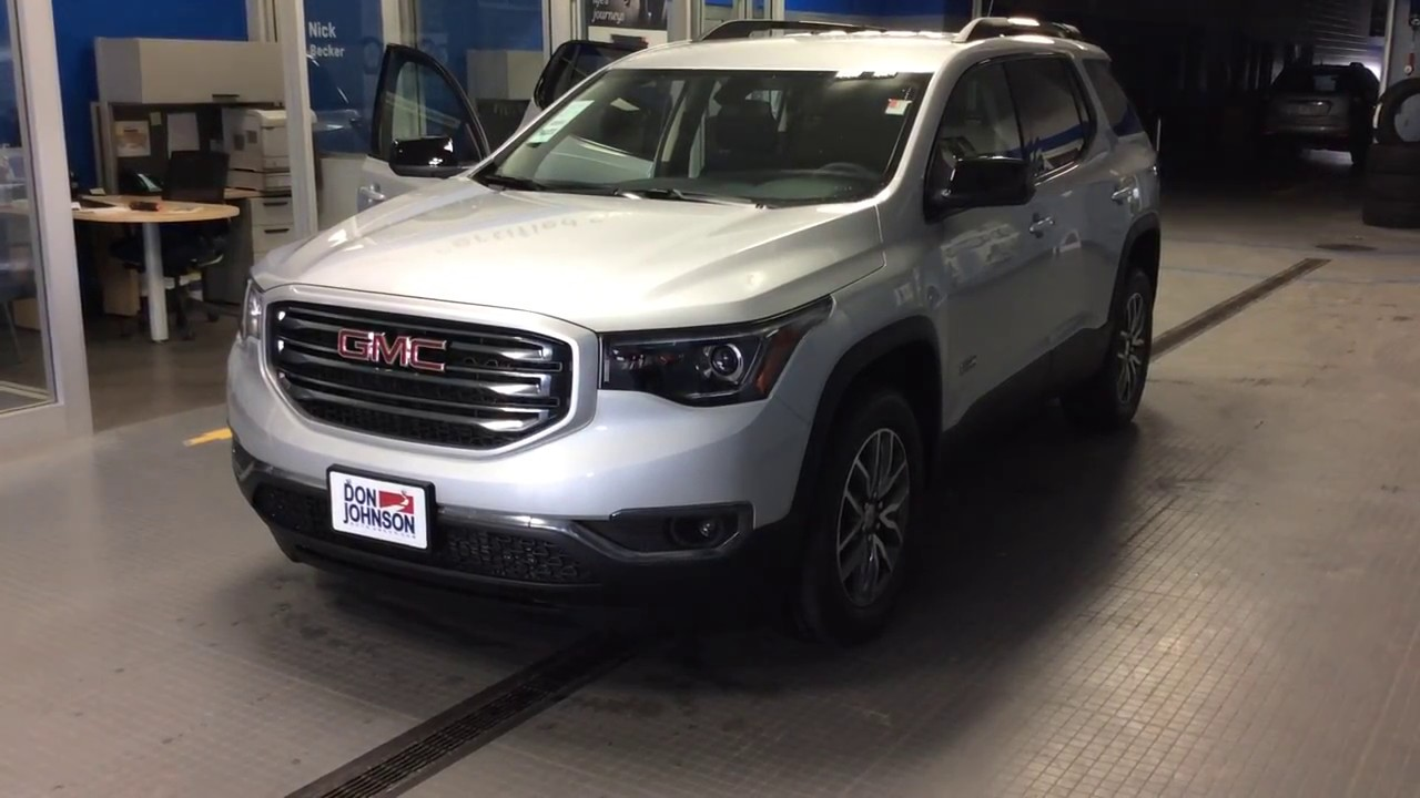 2017 gmc acadia sle 2 all terrain at don johnson motors in rice lake wi r17299 youtube. Black Bedroom Furniture Sets. Home Design Ideas