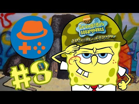 AniMat Plays SpongeBob SquarePants: Battle for Bikini Bottom #8 - Mr. Krabs' Robot Nightmare