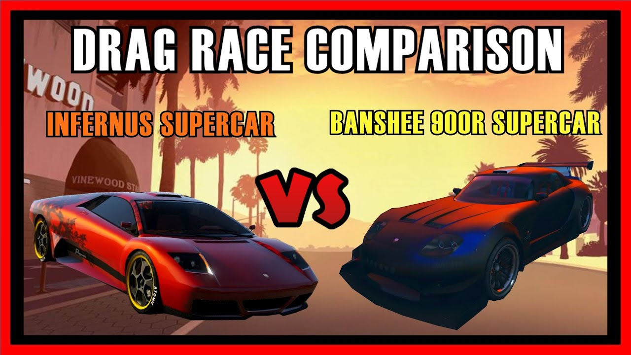 gta 5 ps4 banshee 900r supercar vs infernus car drag. Black Bedroom Furniture Sets. Home Design Ideas