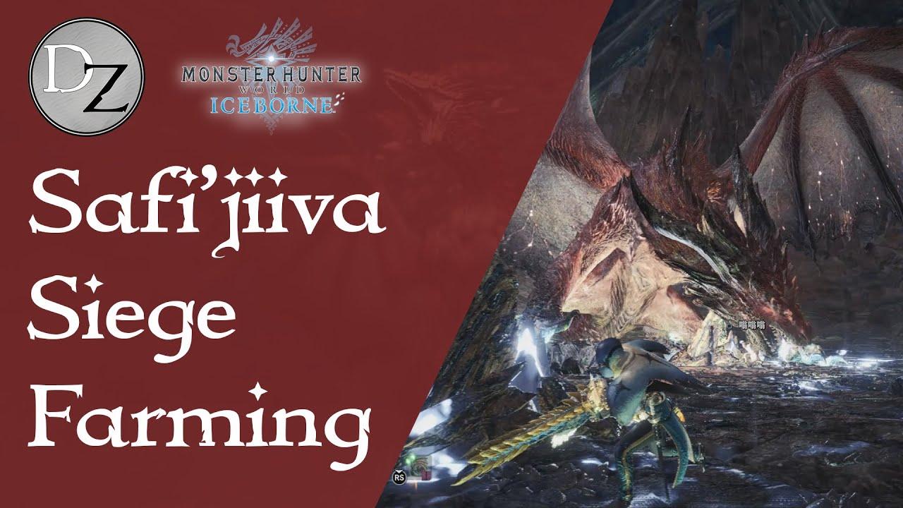 Monster Hunter World Iceborne Safi Jiiva Siege Safi Weapon