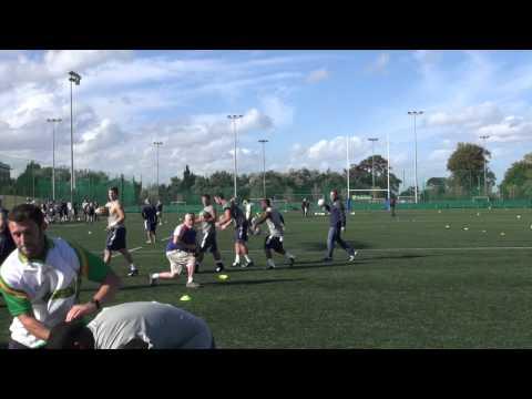 Penn State Football 2014: Gaelic Games Instruction Highlights