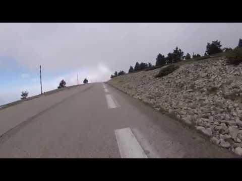 Mont Ventoux montée par Bedoin 14.05.2016