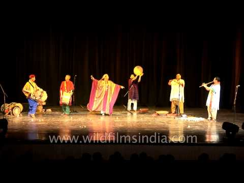African Festival organised by Inidan Council for Cultural Relation in Delhi