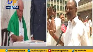 ETV Interview with AP State PCC Chief Raghuveera Reddy | Over Karnataka CM Yeddyurappa