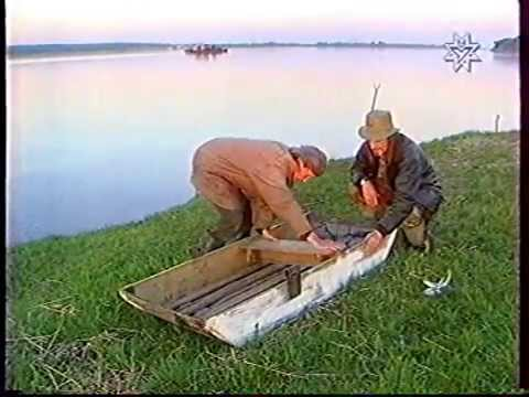 Рыбацкие самоделки 83.Самодельная лодка. - YouTube