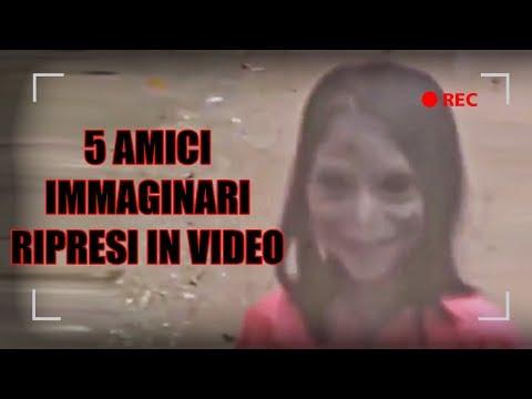 5 Amici Immaginari ripresi in video