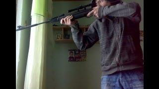 Обзор пневматической винтовки MP-512