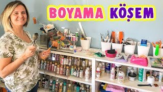 Ahşap Boyama Köşem  Wood Painting Corner  EvcilikTV