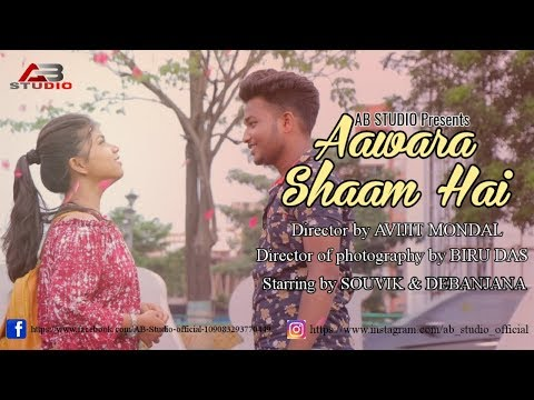 aawara-shaam-hai-|-latest-romantic-hindi-song-2019-|-souvik-&-debanjana-|-ab-studio-official