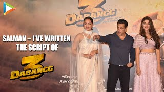 """HILARIOUS – Salman Khan On Dabangg 3: """"I've written the script and this film is for…"""""""