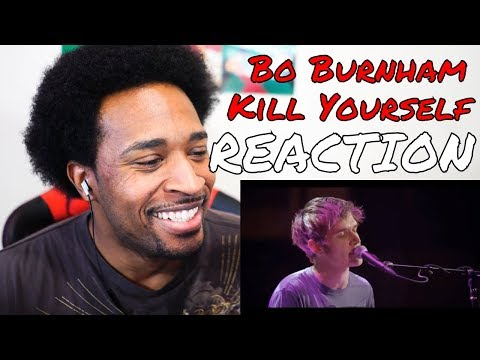 Bo Burnham - Kill Yourself REACTION - DaVinci REACTS
