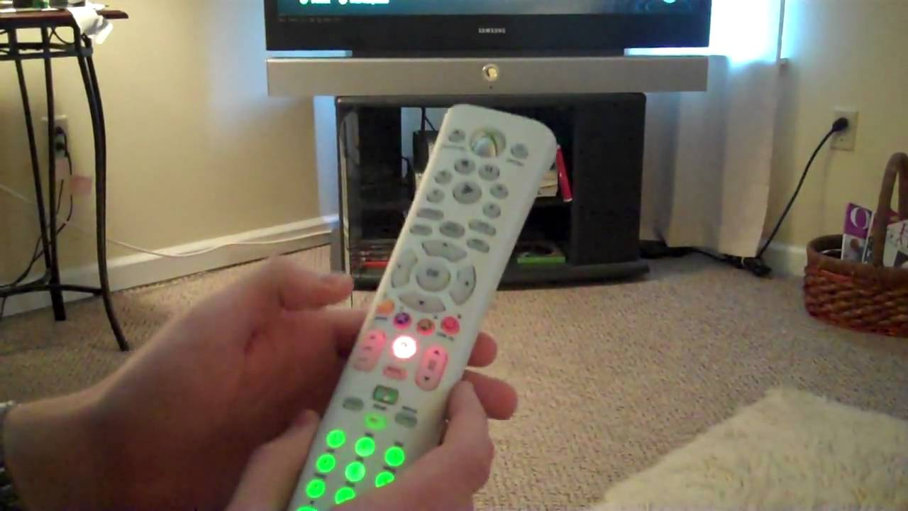 Getting The Universal Media Remote To Work Properly For Tv Xbox