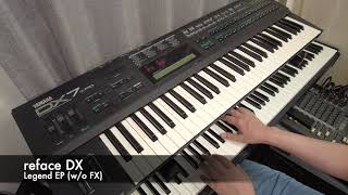 DX7 vs DX7ii-FD vs reface DX (Yamaha)