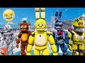 SPRING BONNIE! BRAND NEW BONNIE ANIMATRONIC! (GTA 5 Mods For Kids FNAF RedHatter)