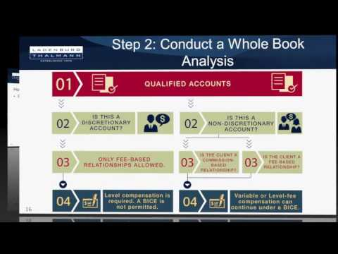 Rethinking Your Value Pricing & Service in a Post DOL Fiduciary Rule World HD