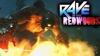"""RAVE IN THE REDWOODS"" GAMEPLAY TRAILER | TRAILER BREAKDOWN (IW ZOMBIES DLC 1)"